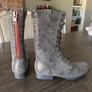 NWOT Madden Girl combat boot
